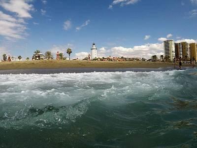 Photograph - Malaga Beach by Tamara Sushko