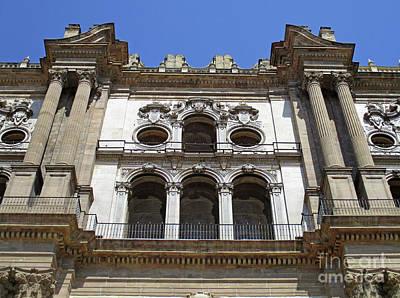 Photograph - Malaga Cathedral 10 by Randall Weidner