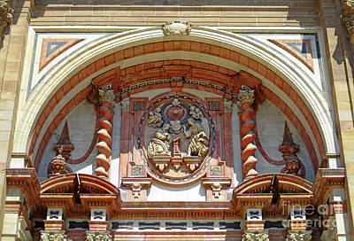 Photograph - Malaga Cathedral 11 by Randall Weidner