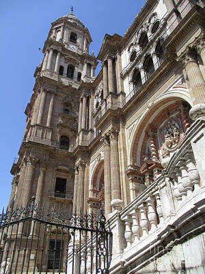 Photograph - Malaga Cathedral 13 by Randall Weidner