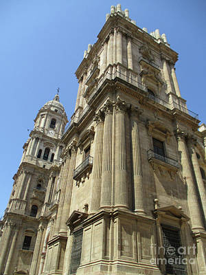 Photograph - Malaga Cathedral 14 by Randall Weidner