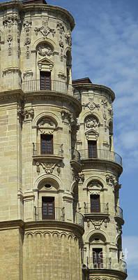 Photograph - Malaga Cathedral 15 by Randall Weidner