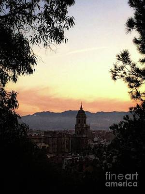 Photograph - Malaga City by Jackie Mestrom