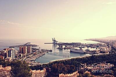 Photograph - Malaga Harbor by Jackie Mestrom