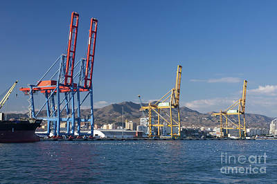 Photograph - Malaga Harbour by Rod Jones