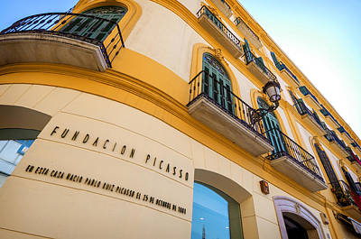Malaga The Pablo Picasso Fundation Birthplace Museum Spain Art Print