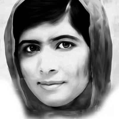 Malala Yousaf Zai 07 Art Print