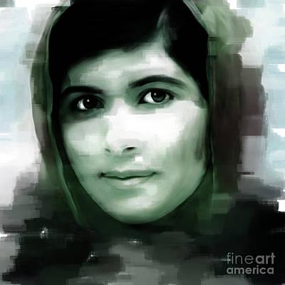 Malala Yousaf Zai 09 Art Print