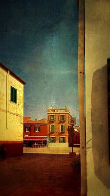 Photograph - Malamocco Glimpse No1 by Anne Kotan