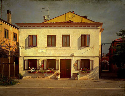 Photograph - Malamocco House No1 by Anne Kotan