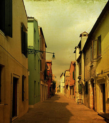 Photograph - Malamocco Perspective No1 by Anne Kotan