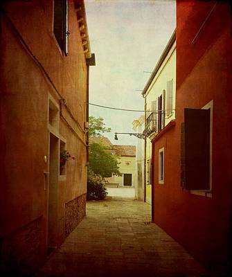 Photograph - Malamocco Perspective No2 by Anne Kotan