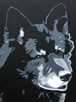 Painting - Malamutt by Rock Rivard