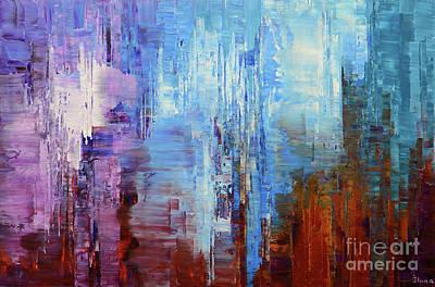 Painting - Malaspina Glacier by Tatiana Iliina