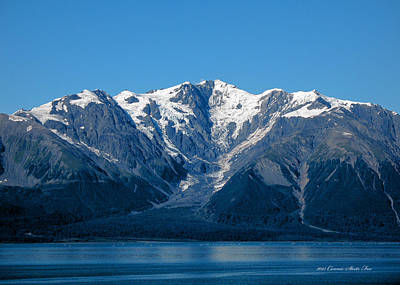 Photograph - Malaspina Glacier, Yakutat Bay Alaska Seascapes by Connie Fox