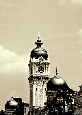 Photograph - Malaysian  Architecture by Joseph Hollingsworth