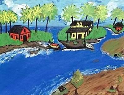 Painting - Malaysian Island Painting by Jonathon Hansen