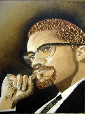 Malcolm X Original by Keenya  Woods