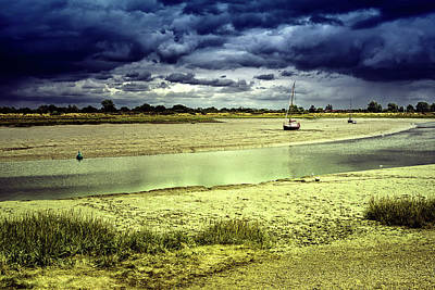 Photograph - Maldon Estuary Towards The Sea by John Williams