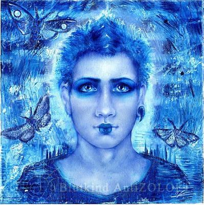 Male Beauty Art Print by Blutkind Antizoloft