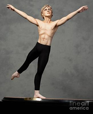 Male Dancer Print by Vickie Arentz