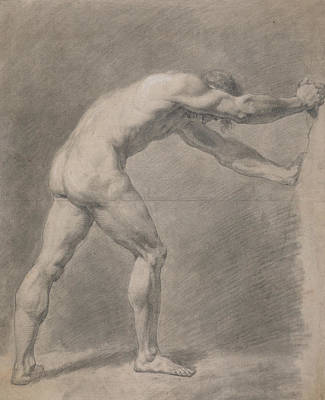 Drawing - Male Nude  by John Constable