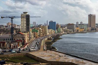 Photograph - Malecon In Havana by Arthur Dodd