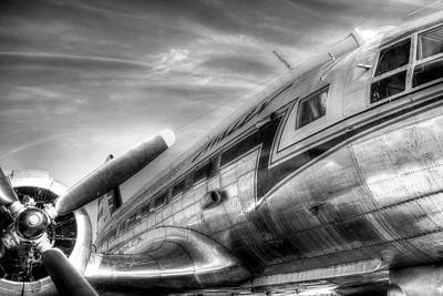 Photograph - Malev Airlines Ilyushin Il-14 by David Pyatt