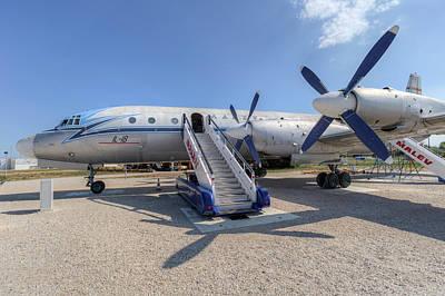 Photograph - Malev Airlines Ilyushin Il-18 by David Pyatt