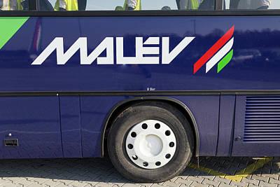 Photograph - Malev Airlines Logo by David Pyatt