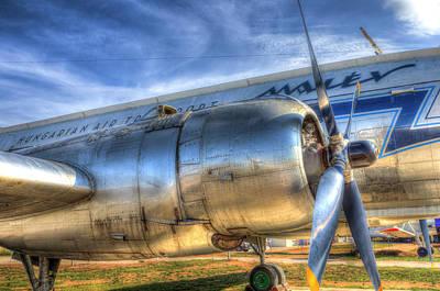 Photograph - Malev Ilyushin Il-14 Aircraft by David Pyatt