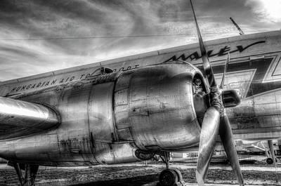 Photograph - Malev Ilyushin Il-14 by David Pyatt
