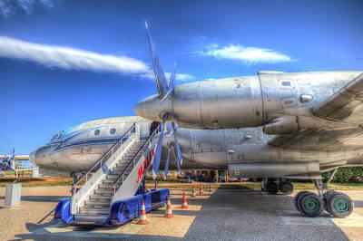 Photograph - Malev  Ilyushin Il-18 by David Pyatt