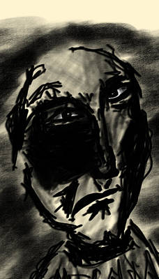 Drawing - Malevolent by Bill Owen