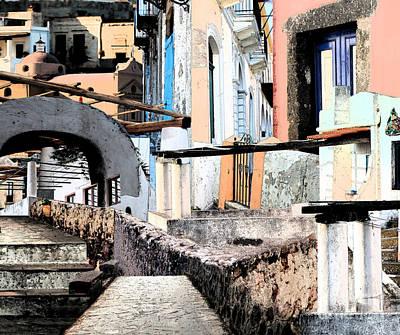 Malfa Elevations Art Print by Ayesha DeLorenzo