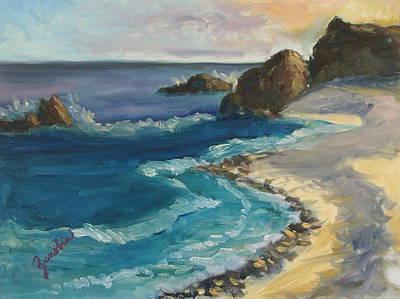 Malibu California Beach Original