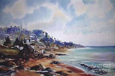 Painting - Malibu California by John Mabry