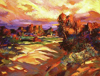 Painting - Malibu Canyon Creek by David Lloyd Glover