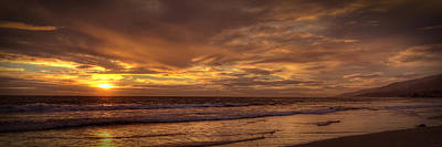 Photograph - Malibu Gold by Robert Melvin
