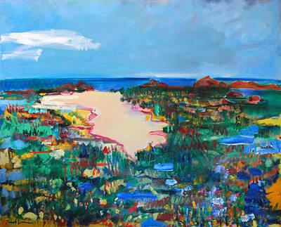Malibu Marshes Art Print by Zolita Sverdlove