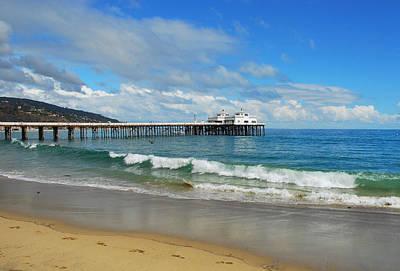 Photograph - Malibu Pier by Lynn Bauer