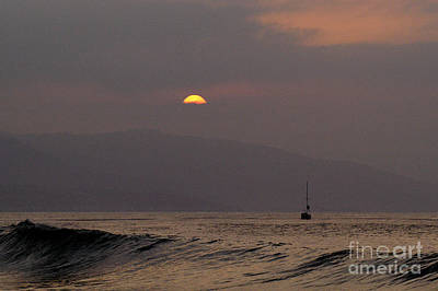 Malibu Sunrise Print by Marc Bittan