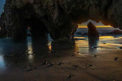 Photograph - Malibu Sunset #2 by Jack Peterson