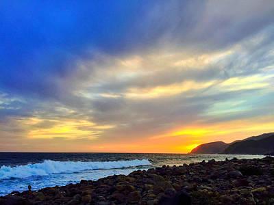 Photograph - Malibu Sunset 1 by Braden Moran