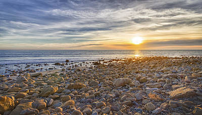 Photograph - Malibu Sunset by Chris Reed