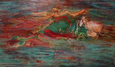 Malibu Painting - Malibu Sunset by Maureen Tepedino