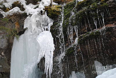 Photograph - Maligne Canyon Winter 5 by Joshua Hogg
