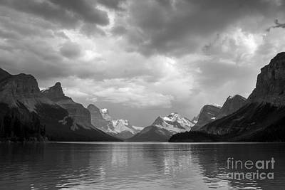 Photograph - Maligne Lake by Chris Scroggins