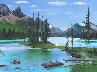 Maligne Lake Original