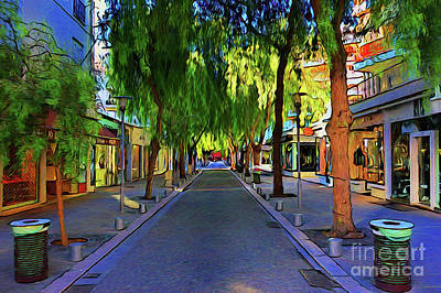 Photograph - Mall Street 16718 by Ray Shrewsberry